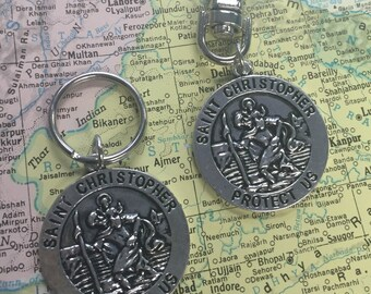 St. Christopher Key Chain