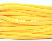 Wholesale .39+ Yellow Stretch Nylon Chokers...Use for bottle cap jewelry,pendants,charms, headbands/doubles as a bracelet or anklet....