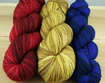 "Pillow Talk ""Trio"" - MCN Light Fingering Yarn 3 Pack (#2)"