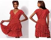 McCalls 6694 M6694 - Misses Dress Pattern - Easy Knit Dress Sewing Pattern