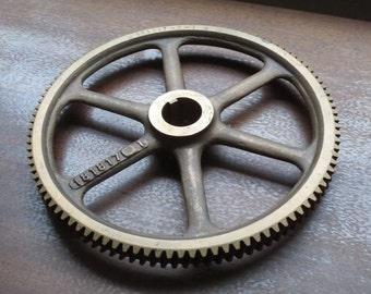 Cast bronze gear