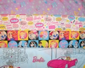 BARBIE #1 fabrics, sold individually,not as a group, sold by the Half Yard, please see body of listing