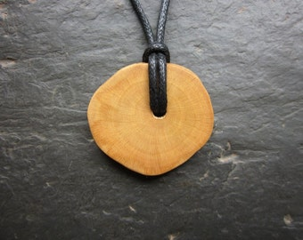 Natural Wood Pendant - Elder - Embrace Your Inner Crone.