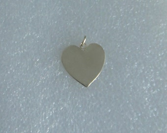 14k Gold Heart Pendant By SherryGDesigns