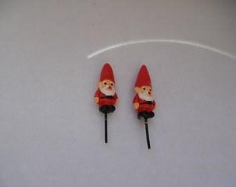 Miniature Gnomes or Santas Terrarium or Fairy Garden Decorations