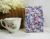 Tea Wallet ... Les Fleurs Rosa in Periwinkle, Rifle Paper Co