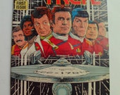 Vintage STAR TREK Comic Book Oct 1989 First Issue The Adventure Begins Anew