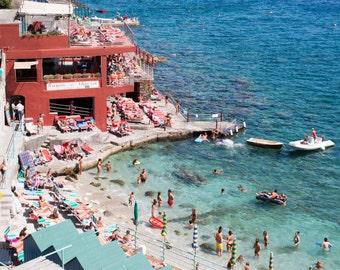 Italy Photography, Capri Summer, Amalfi Coast, Italy, beach photography, Italian home decor, Beach Art, bedroom art, summer in amalfi