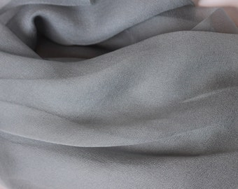 Olive Green Silk Chiffon Gauze - Accessory - Felting Supplies - Gift for Her - Low Shipping Costs