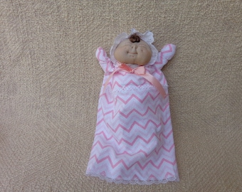 Soft Sculptured  Baby Doll Puppets -Handmade