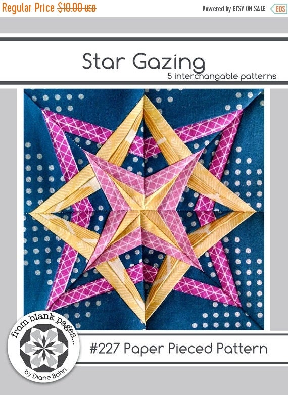Sale Star Gazing 227 5 Patterns 24 Inch Block By