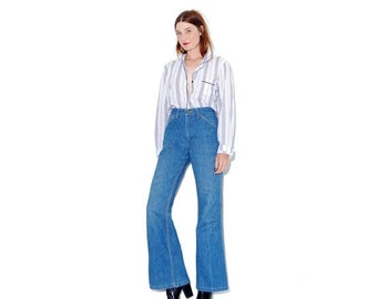 WTF HALF OFF Insanely Rare 70s Lee Bellbottoms / womens lee jeans bell bottoms high waisted jeans bellbottom jeans bell bottom jeans