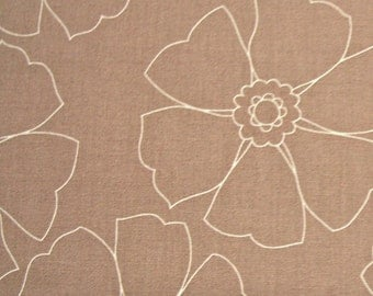 COUPON CODE SALE - End of Bolt - Maywood Studio, Emperors Garden, Taupe, 100% Cotton Quilt Fabric, Monotone, Tonal Fabric, Quilting Fabric