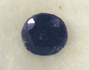 26.5 carat  ...  faceted sapphire gemstone ... 16 x 9 MM