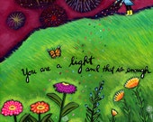 Greeting Card : You are a Light