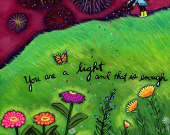 Greeting Card : You are a Light #309-C