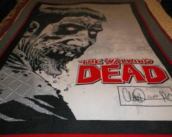 Walking Dead Fleece Throw Blanket