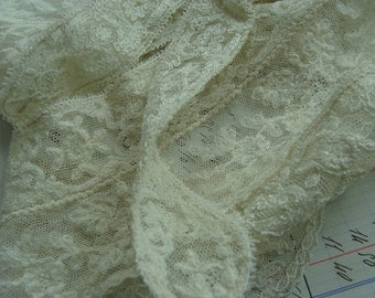 Antique Edwardian Heirloom Tambour Brussels Intoxicating Antique Handmade Whitework Collar Downton Gatsby N034