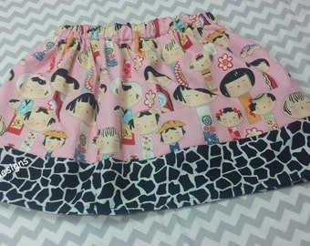 SUMMER CLEARANCE SALE China Doll skirt size 5T.  Ready to Ship