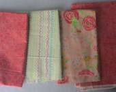 Pink Rose Chance of Flowers Fabric Bundle - Moda - Sandy Gervais