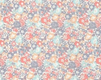 Liberty Fabric Michelle C Tana Lawn Half Yard Pastel Vintage Floral