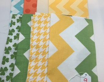 SUMMER SALE - Basics Bundle #9 - Fat Quarter Bundle (8) - Riley Blake Designs -