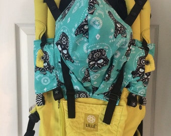 Lillebaby custom hood. Darth vader star wars turquoise