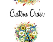 Custom Order for LLUCHETTI - Custom Crib Bedding