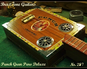 Punch Gran Puro Deluxe cigar box slide guitar