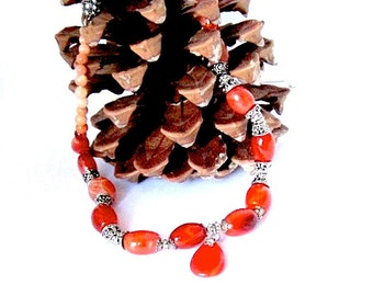 High Quality Carnellian Necklace