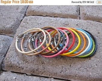 ON SALE Leather Bracelet Choice of Color (3MM)-1X