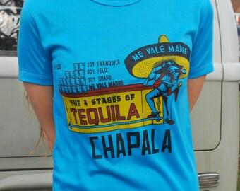 Vintage Chapala Mexico Souvenir Tee
