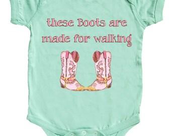 Western Baby Girl Bodysuit Cowgirl Infant Bodysuits Newborn One Piece