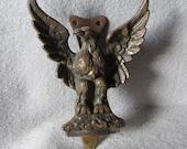 Antique Patriotic Bald Eagle Door Knocker, English