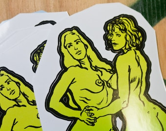 Promo Stickers - Diana and Beth