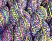 Hand plied and dyed yarn - Homegrown Alpaca / Merino blend (Lot 1316H)