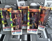 Vintage Spice Girls On Tour Girl Power 5 Doll Set Mint in Box Posh Scary Sporty Ginger Baby