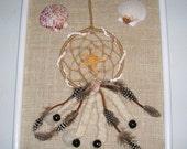 Dreamcatcher and Seashell Wall Art