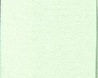 Pure Wool Felt Sheet - Ice Green - Half Metre / Quarter Metre