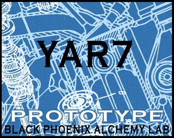 Yar7 Prototype - Black Phoenix Alchemy Lab Perfume Oil 5ml