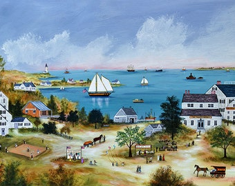 Summer on Cape Cod - Limited Edition Print _ by J.L. Munro