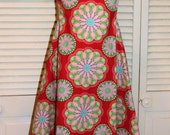 Pink and Green Swing Dress in size 6 and 8