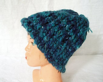 Knit hat - Baby to Toddler size - three colors available - READY TO SHIP