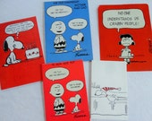 Peanuts Gang Snoopy Charlie Brown and Friends in Vintage All Occasion Lot No 152 Christmas Snoopy Pop Up Fold Outs