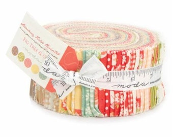 Moda Jelly Roll - Strawberry Fields Revisited by Fig Tree Quilts for Moda