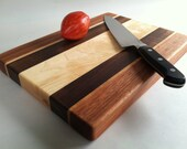 THICK Beautiful Reclaimed Hardwoods MED Cutting Board