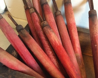 Vintage Woodworking Whittling Artist Tools