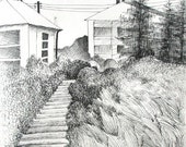 RESERVED - Original Drawing - Landscape - 8x10 in