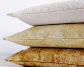 Eye Pillows, Lavender Aromatherapy Yoga Meditation Stress Relief Flax Pillow, Shades of Yellow
