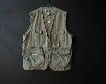 Vintage Sport Vest Fishing Hunting Hiking Camping From Nowvintage on Etsy